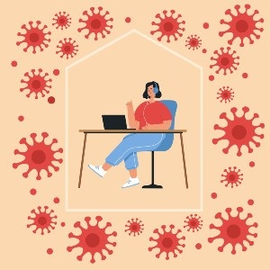 Coronavirus work-from-home