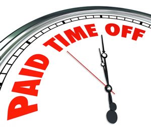 Paid Time Off Graphic